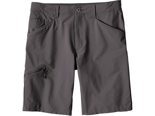 "Patagonia Quandary Pantalones cortos 10"" Hombre, forge grey"